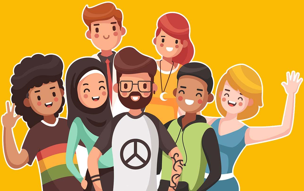 happy people viruteller assistent marketing illustration grafik video foto rosenheim münchen